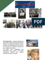 Presentación  MARIA MAZZARELLO