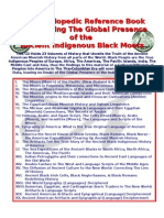 The Global Presence of the Ancient Indigenous Moors Volumes