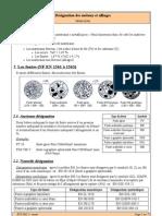 32 03 Designation Des Metaux Et Alliages