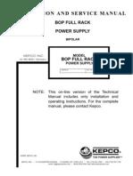 Kepco 36_12_400W BipolarPowerSupply