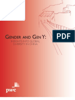 PWC Gender and Gen Y