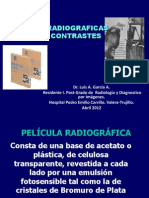 Peliculas Radiograficas y Medios de Contraste Luis 2012