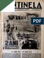 Ziarul Sentinela, Nr.25. 20 Iunie 1943