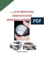 Guia de Inicio Autos Manuales