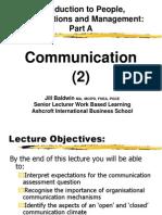Week 10A Communication Part2