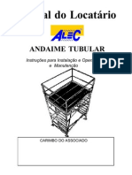 Manual Andaime Tubular