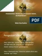 Moh Nurhakim, PhD - Pendekatan Irfani Dalam Majelis Tarjih Muhammadiyah