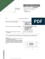 Metodo de Eliminacion Mediante Plasma