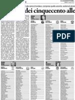 Belluno - candidati elezioni 2012