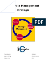 Proiect Management Strategic