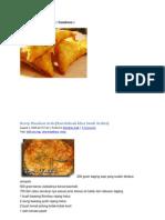 Resep Makanan Arab