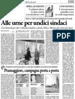 Venezia - candidati elezioni 2012