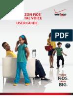 Verizon Digital Phone Booklet