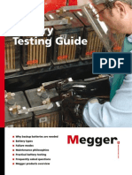 Megger-Battery Testing Guide 2010