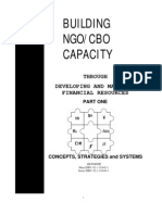 Building NGO-CBO Capacity