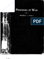 1924 Book on US Prisoner of War Operations for Future Use