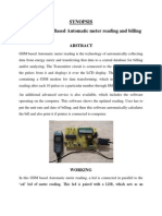 GSM Based Automatic Meter Reading and Billing System