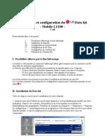 Installation Et Configuration Du LG Data Kit - L1100 - V1.00