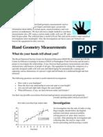 Hand Geometrics