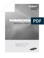 Manual Do Monitor TA550