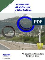 ALXION STK 4 Wind Turbine Permanentni Generator