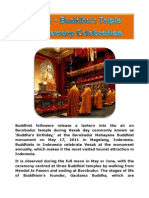 Vesak - Buddha's Triple Anniversary Celebration
