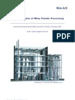 Whey Powder Processing