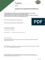 AA Análisis del manejo no operatorio versus apendice