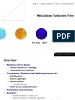 Multi Phase Turbulent Flow