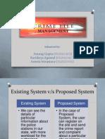Crimefile Management Presentation