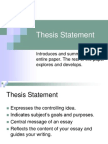 Thesis Statement.ppt