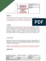 Manual de Procedimientos Operativos Estandarizados de Sanitizacin de Caf