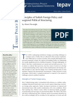 Principles of Turkish Foreign Policy and  Regional  Political Structuring