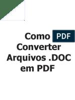 Como Converter Arquivos DOC Em PDF
