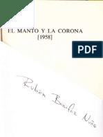 Rubén Bonifaz Nuño, El Manto y La Corona (1958)