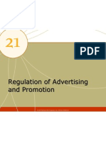 Regulation of Advertising and Promotion