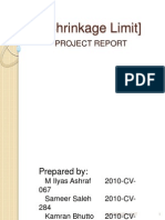 Shrinkage Limit Presentation