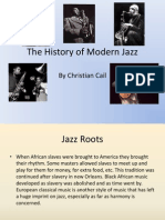 The History of Modern Jazz