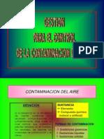 Gestion Control Contaminacion Aire