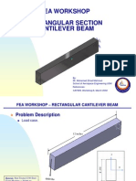CATIA V5 GPS for Designer - Cantilever Beam - 2012