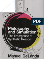 DeLanda Manuel Philosophy and Simulation the Emergence of Synthetic Reason