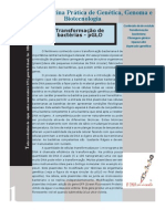 Manual da Oficina Prática de Genética, Genoma e Biotecnologia