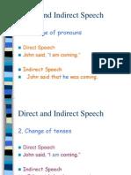 Direct and Indirect Speech - Jessie