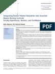 Integrating Human Patient Simulation Into