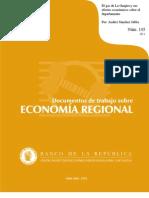 El gas de La Guajira y sus efectos económicos sobre el departamento