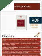 Distribution Chain ITC Cigarettes
