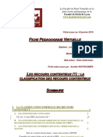 05-Les Recours Contentieux 1 La Classification Mis Jour