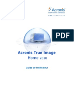 Acronis UserGuide