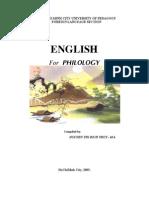 English for Philology(NguyenThiBichThuy)