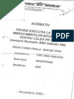 Normativ and 546.2002 Asfalt Pe Calea Pod